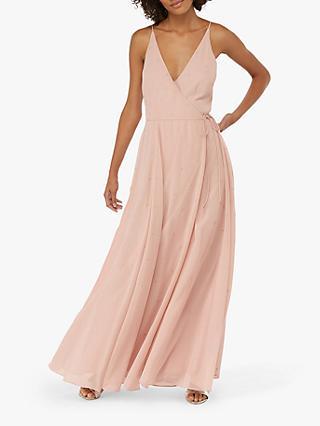84c32840094c Monsoon Gemma Wrap Over Embellished Dress