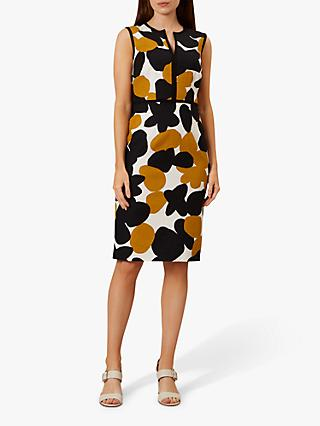 Hobbs Tabitha Dress, Ivory/Multi