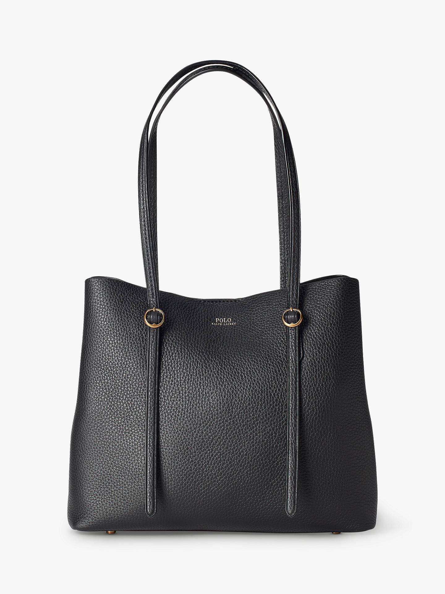 290ffb40ca Buy Polo Ralph Lauren Lennox Leather Tote Bag Online at johnlewis.com ...