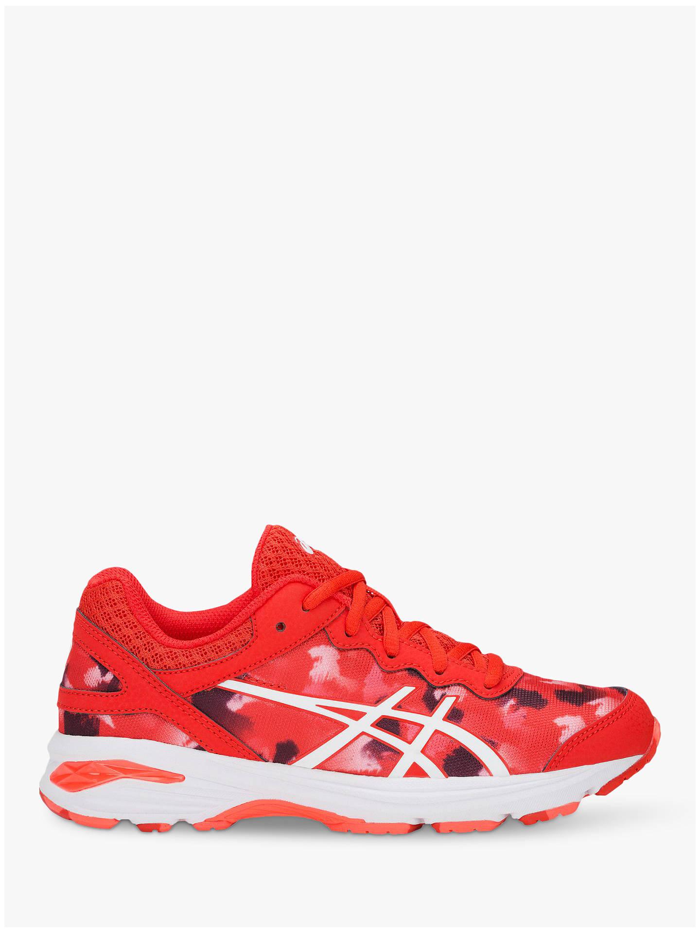 ASICS Children's GEL Netburner Professional GS Netball Shoes, Fiery RedWhite