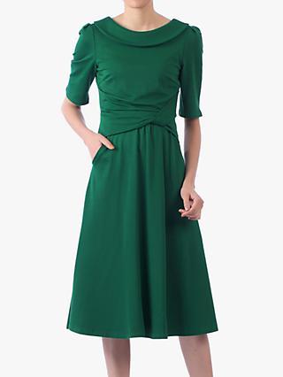 8e34709904e1 Jolie Moi Roll Collar 50s Dress