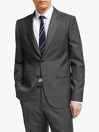 John Lewis & Partners Zegna Wool Tailored Suit Jacket, Grey