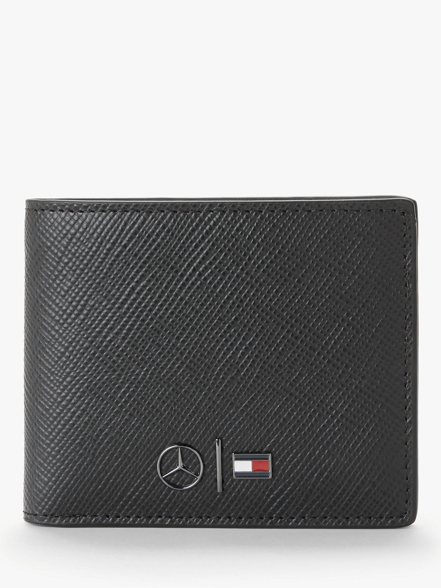 more photos b225f 5f5e2 Tommy Hilfiger Mercedes Benz Small Leather Wallet, Black