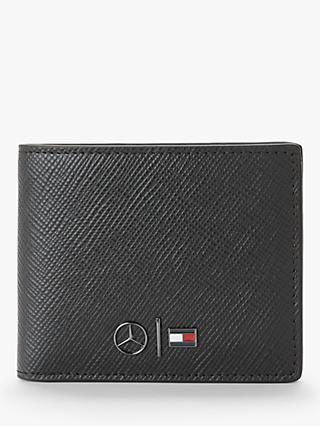 fa4867b4 Tommy Hilfiger Mercedes Benz Small Leather Wallet, Black