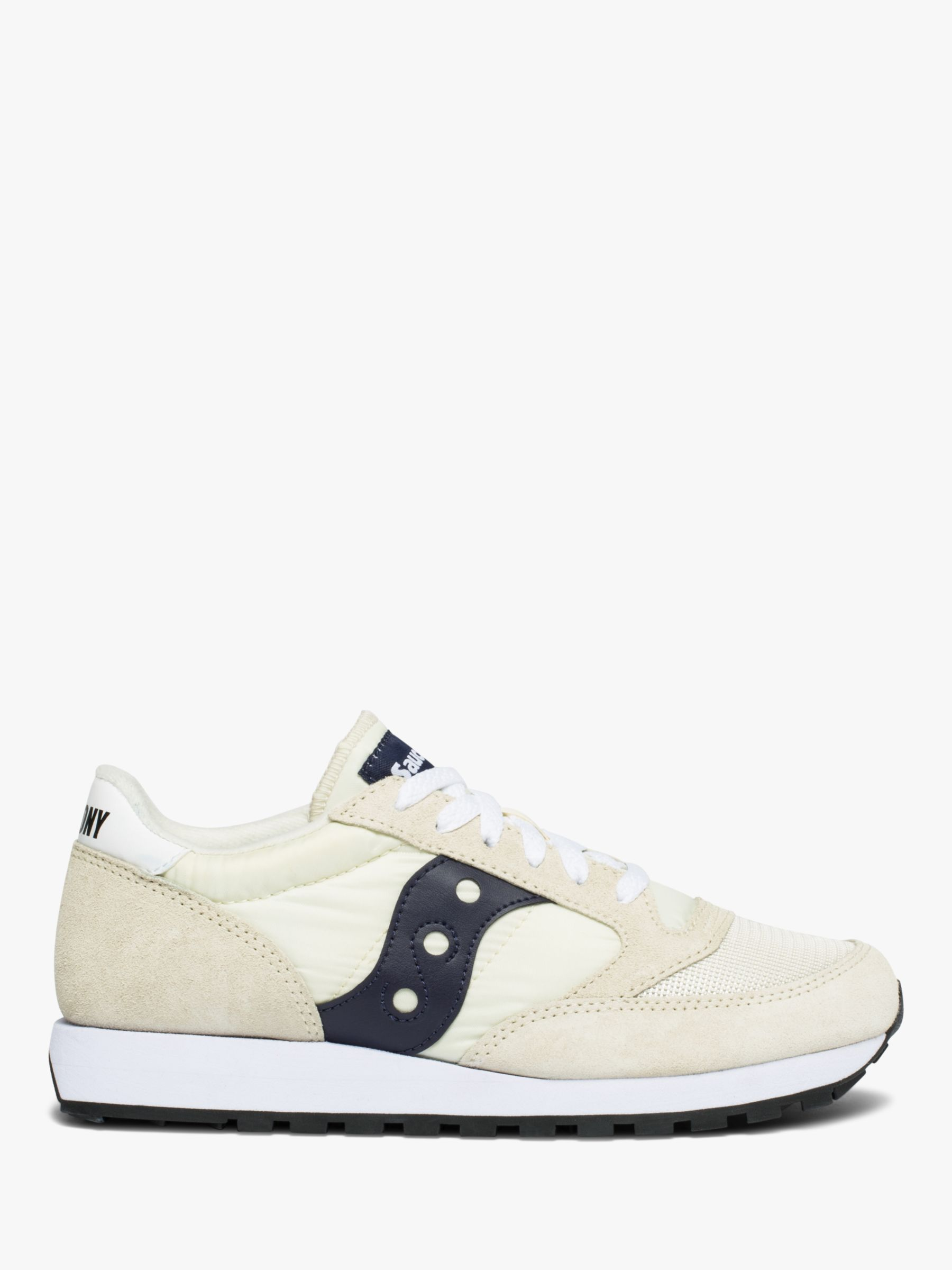 Buy Saucony Jazz Original Vintage Men's Trainers, Tan/Navy, 7 Online at johnlewis.com