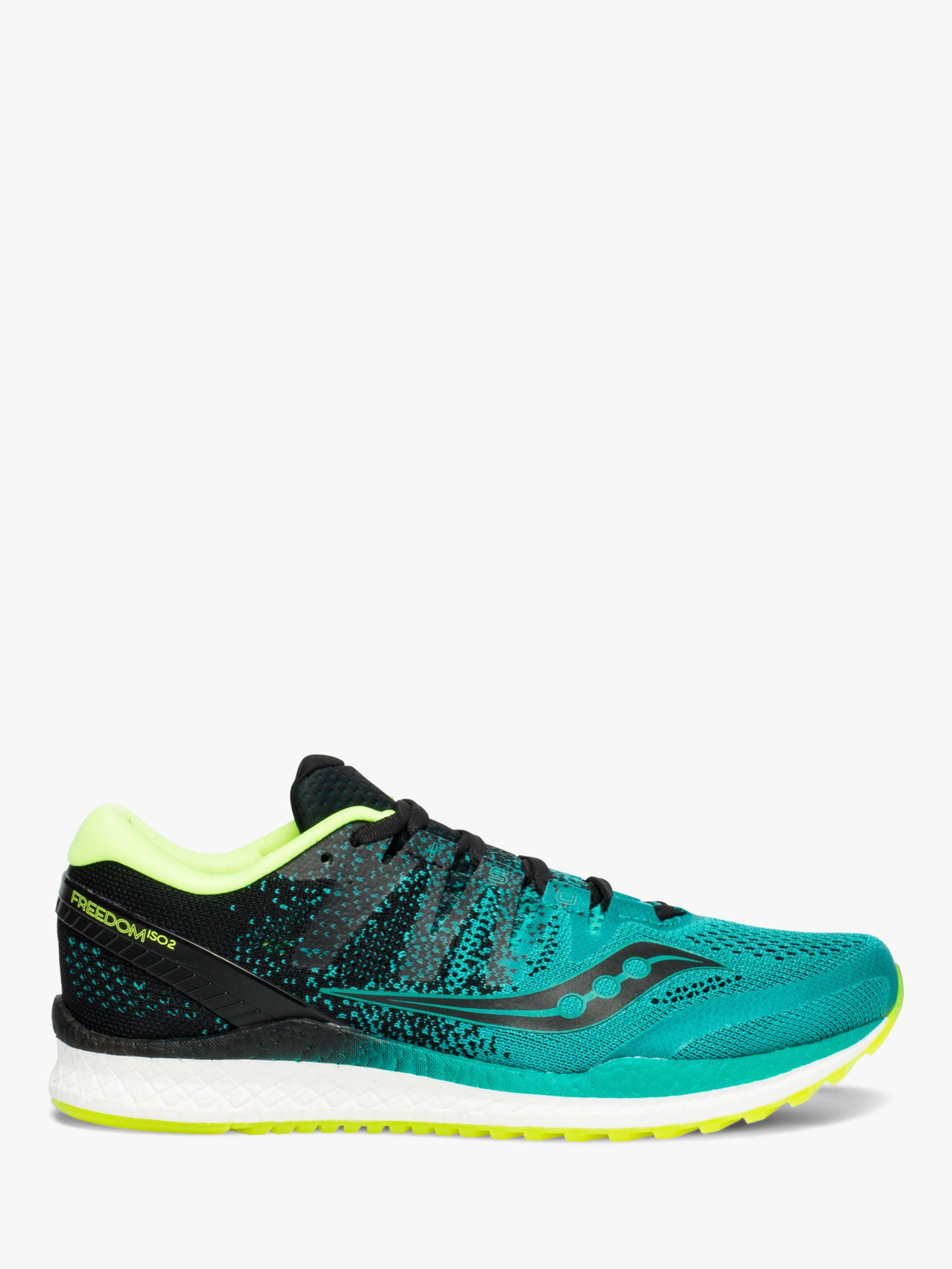 Saucony Saucony Freedom ISO 2 Men's Running Shoes, Teal/Black
