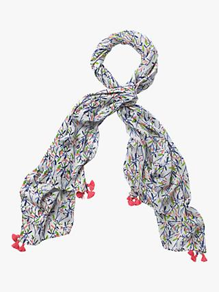 White Stuff Verity Print Scarf