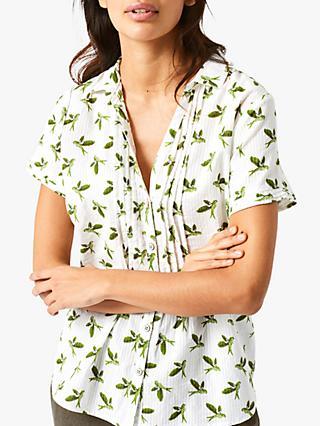 51e12ba9c3b3b1 White Stuff Louvre Cotton Shirt