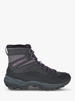 Merrell Thermo Chill Mid Shell Waterproof Women's Hiking Boots, Black
