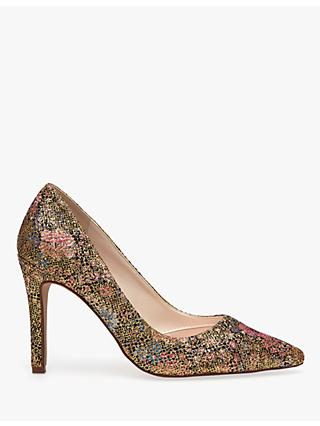 525149b0c1f5 Rainbow Club Coco Glitter Bomb Stiletto Heel Court Shoes