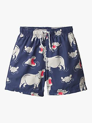 Mini Boden Boys' Swimming Trunks, Navy