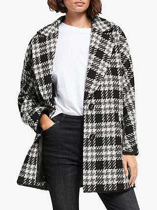 AND/OR Skye Check Coat