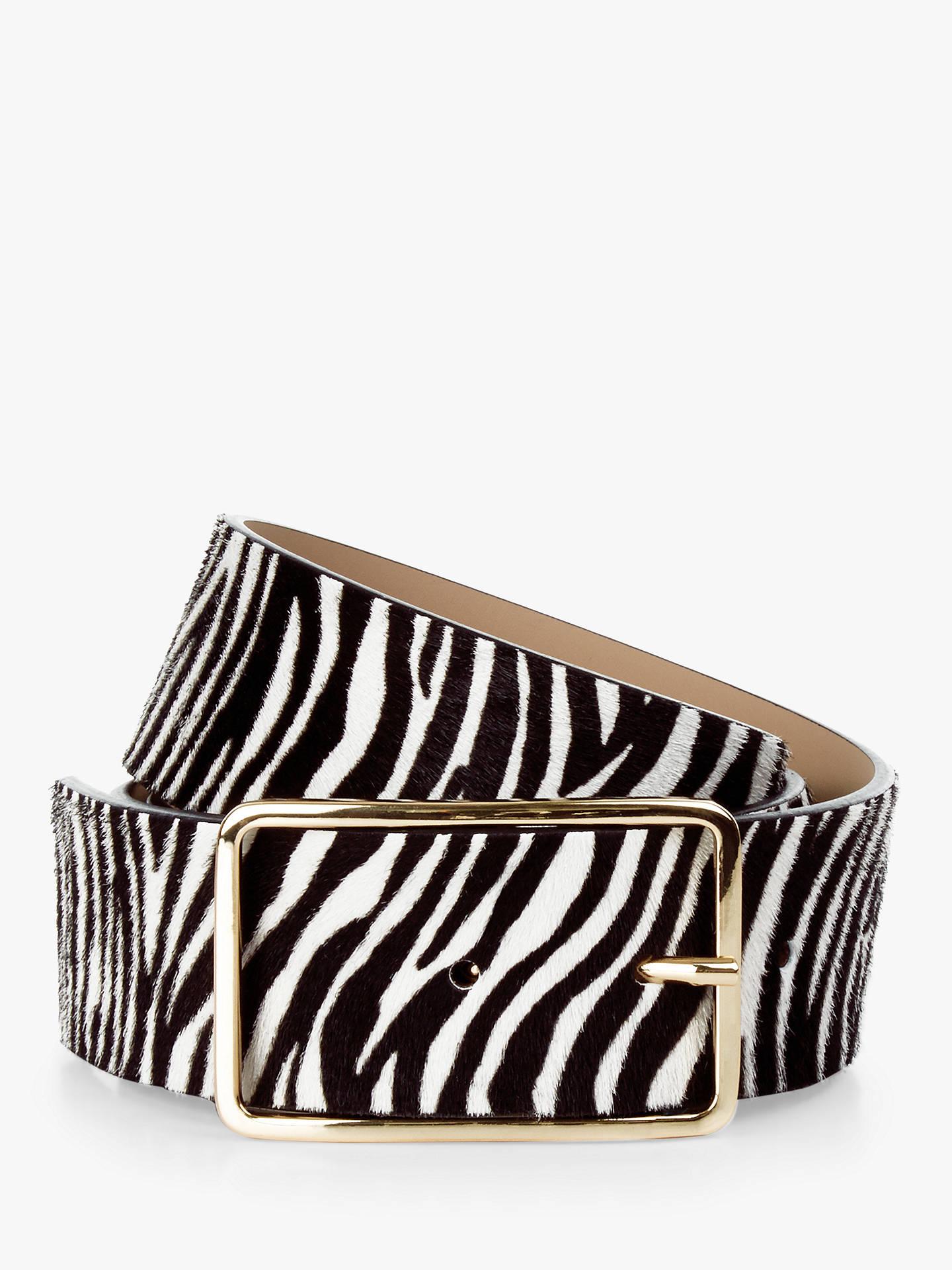 b4d23a37ce5 Buy Hobbs Ruby Zebra Print Leather Belt
