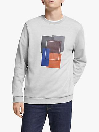 Kin Abstract Graphic Sweatshirt, Grey