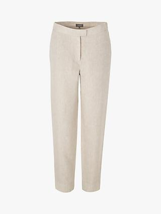 Jaeger 7/8 Cropped Linen Trousers