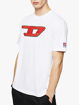 Diesel T-Just Division Logo T-Shirt