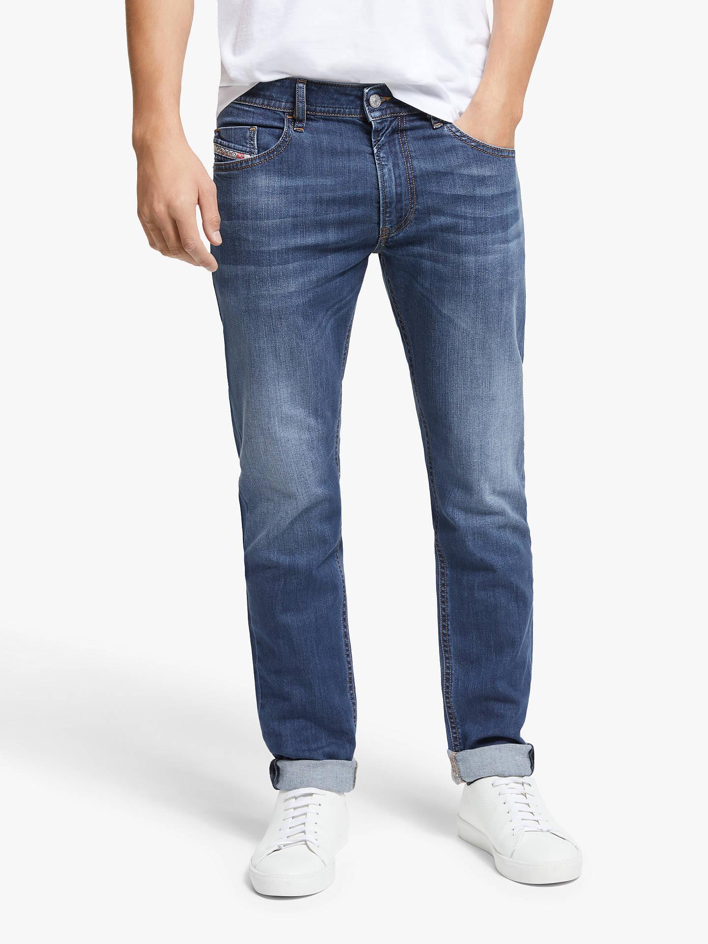 migliori scarpe da ginnastica dd698 7d122 Diesel Thommer Slim Jeans, Medium Blue 082AZ