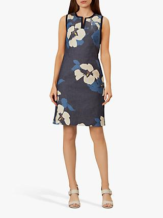 Hobbs Sita Floral Pencil Dress, Multi