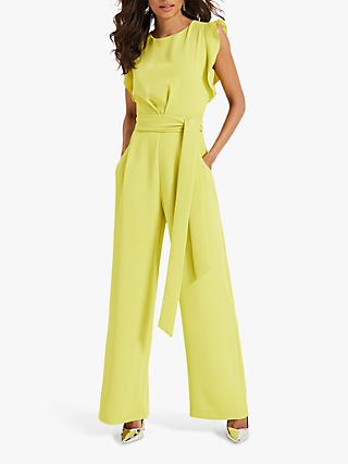 Phase Eight Victoriana Jumpsuit, Lime