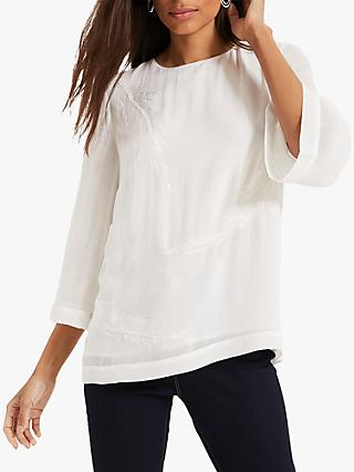Phase Eight Odette Blouse, Ivory