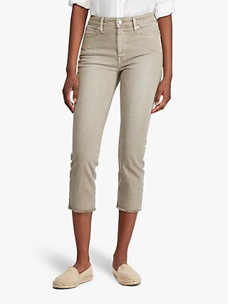 Lauren Ralph Lauren Regal Straight Ankle Jeans, Dry Sage Wash