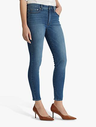 Lauren Ralph Lauren Regal Skinny Ankle Jeans, Harbour Wash Denim