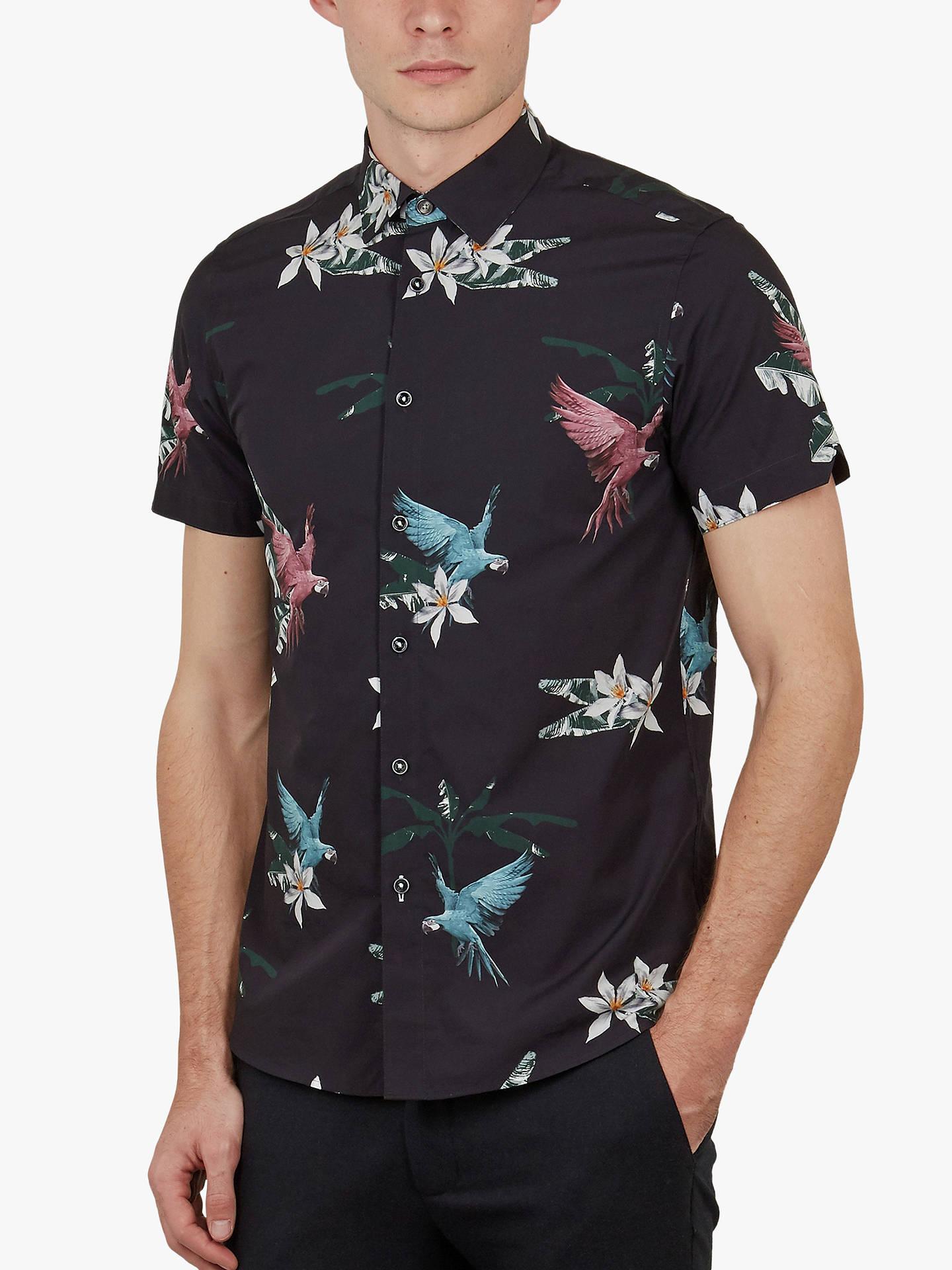 c502aa67cc0917 Buy Ted Baker Sense Parrot Print Shirt