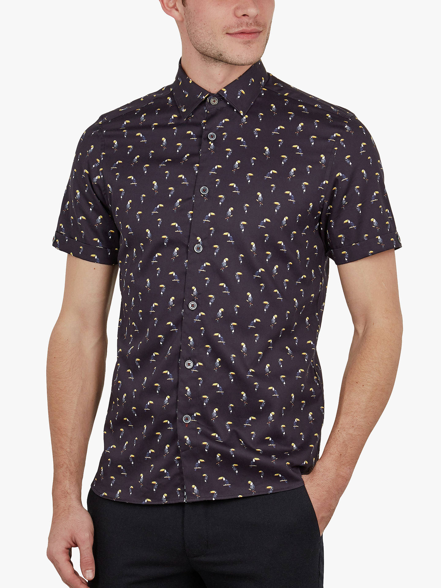 6b878b85a Buy Ted Baker Phmingo Bird Print Shirt