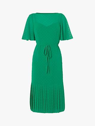 4fc0beae2f L.K.Bennett Boe Textured Spot Dress