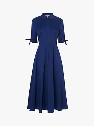 L.K.Bennett Darly Shirt Dress, Royal Blue
