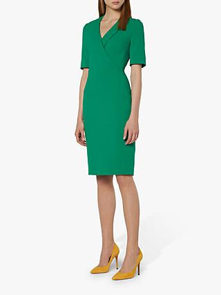 L.K.Bennett Effia Shift Dress, Fern Green