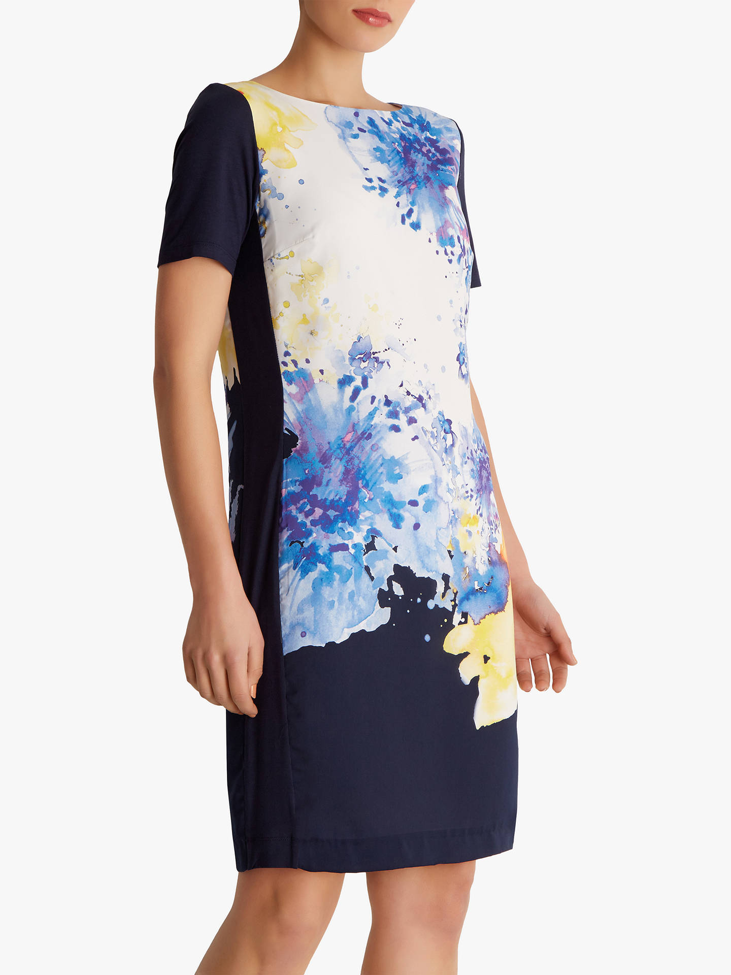 Buy Fenn Wright Manson Hydrangea Dress, Navy, 8 Online at johnlewis.com