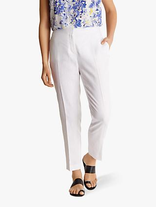 Fenn Wright Manson Avani Linen Trousers, White