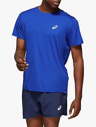 ASICS Silver Short Sleeve Running Top