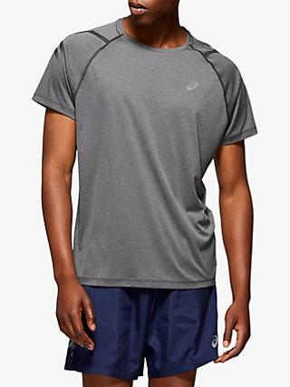 ASICS Icon Short Sleeve Top, Dark Grey