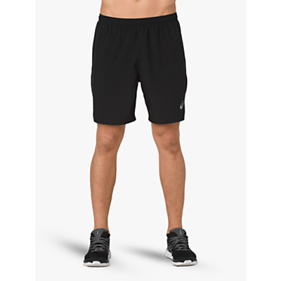 Product photo of Asics silver 2in1 running shorts performance black