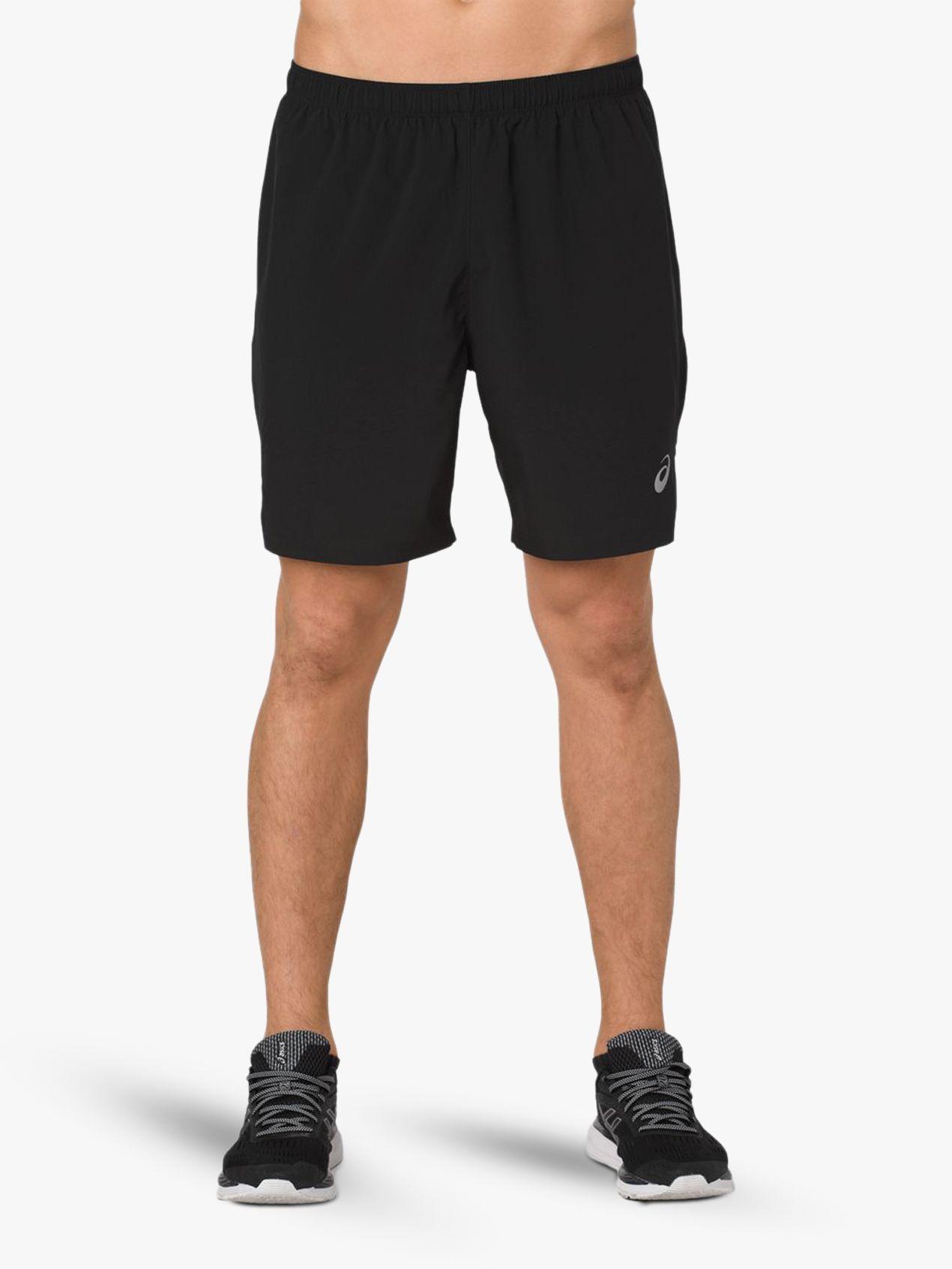 ASICS ASICS Silver 2-in-1 Running Shorts, Performance Black