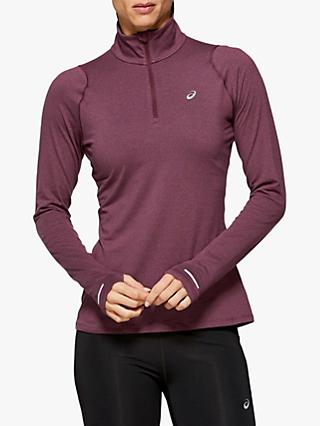 ASICS Thermopolis Long Sleeve 1/2 Zip Running Top