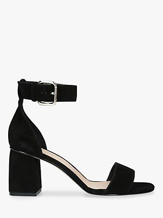 RED Valentino Block Heel Ankle Strap Sandals