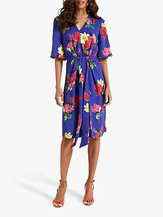 Phase Eight Darcy Kimono Dress, Cobalt/Multi