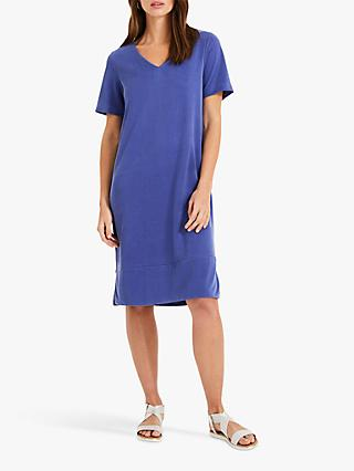Phase Eight Tail T-Shirt Dress, Blue