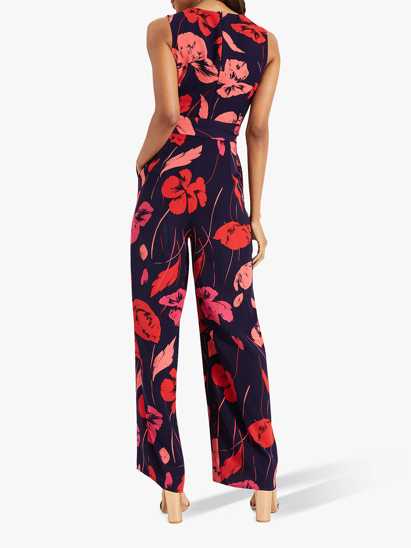 Buy Phase Eight Alexi Jumpsuit, Ink/Multi, 6 Online at johnlewis.com