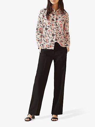 f4d6c754e574d0 Jigsaw Scattered Petal Silk Shirt