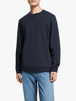 Kin Cotton Crew Sweatshirt, Navy