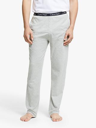 1f0df5599ba3a2 Calvin Klein Jersey Cotton Lounge Pants, Grey
