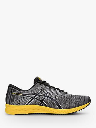ASICS GEL-DS 24 Men's Running Shoes, Black/Tai-Chi Yellow