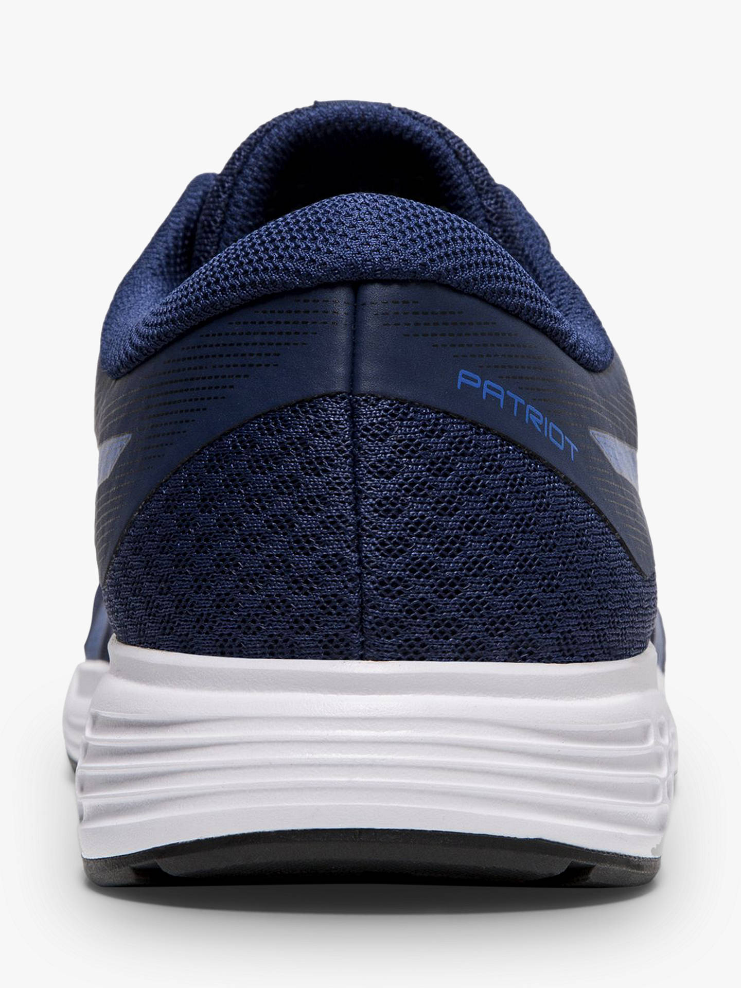 Buy ASICS PATRIOT 11 Men's Running Shoes, Blue/Imperial, 7 Online at johnlewis.com