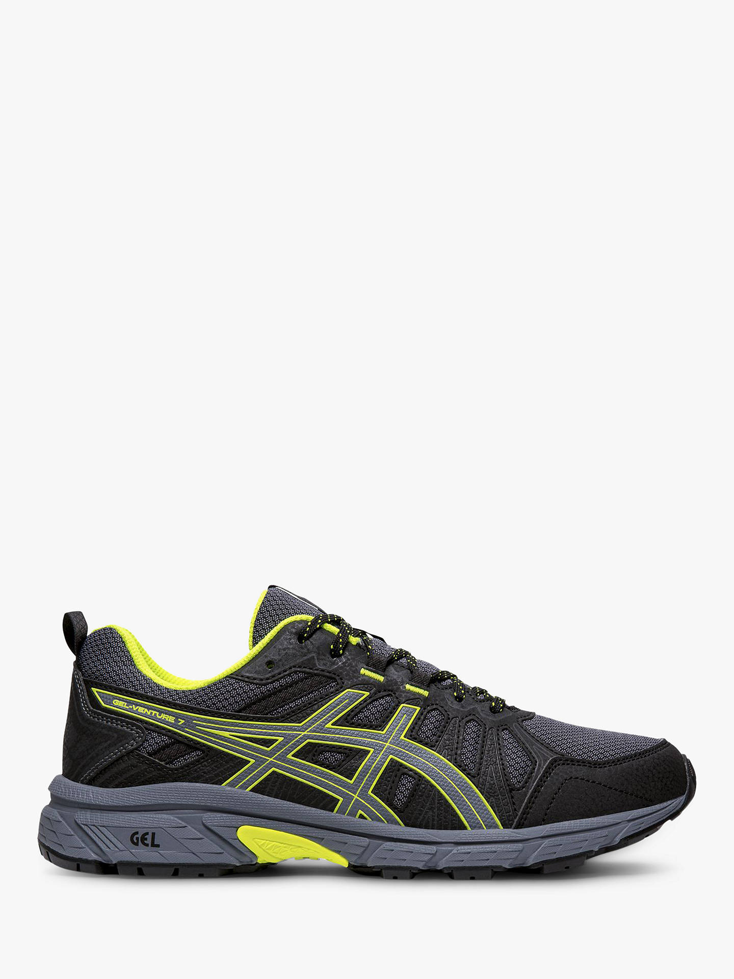2e3eb909e74e Buy ASICS GEL-VENTURE 7 Men's Trail Running Shoes, Metropolis/Yellow, 7 ...