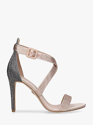 Kurt Geiger London Knightsbridge Crystal Stiletto Heel Sandals