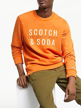 Scotch & Soda Branded Sweatshirt